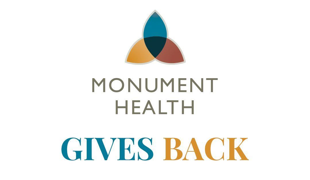 Monument Health Gives Back