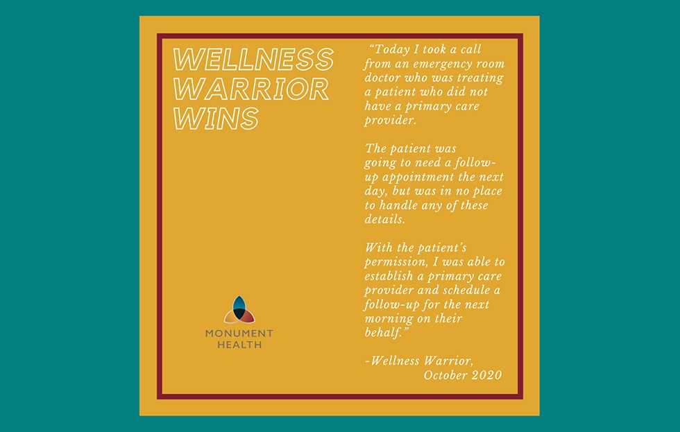 Wellness Warrior Wins | Making a Difference Every Day