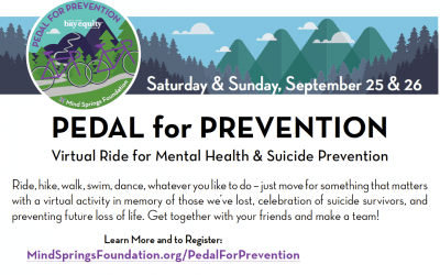 2nd Annual Pedal for Prevention | Monument Health Gives Back